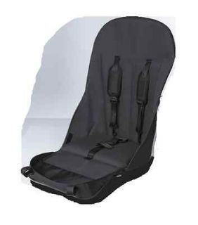 NEW BUGABOO CAMELEON SEAT FABRIC 5 POINT HARNESS DARK GRAY RED SAND