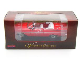 ARKO 1959 Chevy Impala Convertible diecast model car 1/32 Red