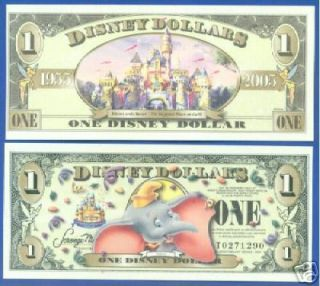 2005 DISNEY DOLLAR DUMBO 50TH ANNIVERSARY SERIES