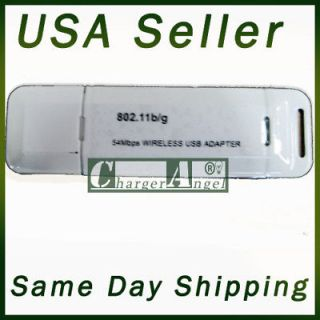 54M 54Mbps 802.11b/g Wireless WiFi Adapter for laptop desktop network