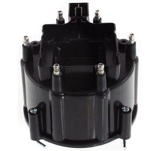 New Distributor Cap Black Full Size Truck Cutlass NINETY EIGHT Chevy