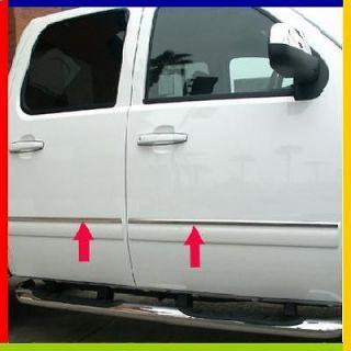 2011 Dodge Ram Quad Cab Body Side Molding Trim (Fits Dodge Ram 2500