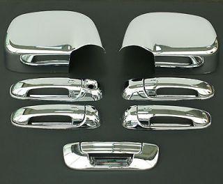 2008 DODGE RAM 5D CHROME DOOR HANDLE MIRROR TAILGATE (Fits Dodge Ram