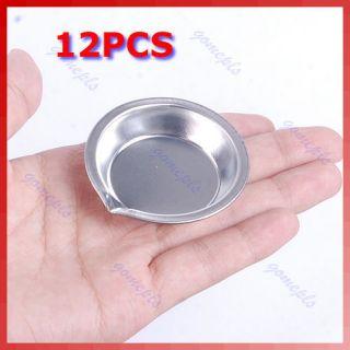 12pcs Mini Stainless Steel Model Craft Tools Nail Art Paint Stirrer