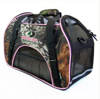 Bergan Pet Carrier Dog Cat Crate Bag Kennel Airplane Car Safe Mossy