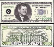 50000 dollar bill