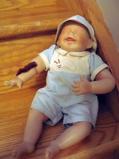 Porcelain Doll Ashton Drake Tickles by Kathy Hippensteel 1992