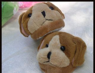LOT of 2 Dog, brown , AND frog fits American Girl Doll Clothes