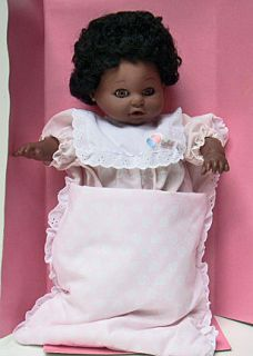 GMBH CLOTH BODY VINYL GERMANY 19 BABY DOLL LAUGHING 96465 PLUSH