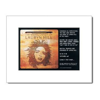 LAURYN HILL   The Miseducation of   Matted Mini Poster