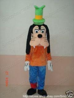 The Goof Troop Goofy DOG ADULT CARTOON MASCOT COSTUME