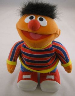 Sesame Street Fisher Price TMX Tickle Me Ernie Doll Working Laughs