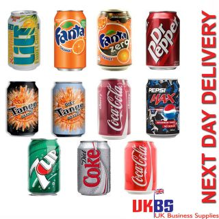 FANTA DR PEPPER TANGO CHERRY COKE PEPSI MAX 7UP SHANDY SODA LUCOZADE