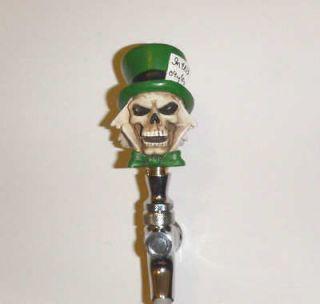 Custom Beer Tap Handle Mad Hatter Skull Kegerator Soda Brewery Bar