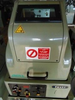 Fasti Double Curb Chain Making Machine, Model GEKL W/ Laservall JL 15