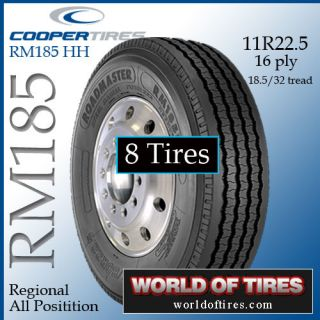tires   Roadmaster RM185 11R22.5 16 ply semi truck tire 22.5 tires