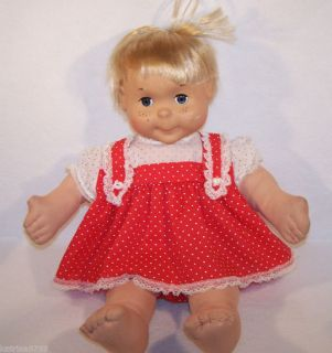 1986 Playskool My Buddy 22 girl Doll Blonde Hair
