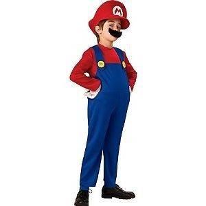 Nintendo Super Mario Bros. Costume Dress Up * Mario * Kids 8 10 Medium