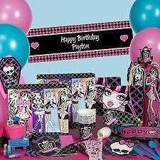 Monster High Party Supplies Frankie Stein Retail Value Over $191