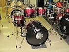 Gretsch Renown Maple Drum Set 20 4 Piece Shell Pack Ruby Sparkle Fade