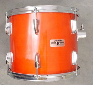 TOUR CUSTOM 13 LACQUER HANGING SUSPENDED RACK TOM DRUM! EXCELLENT