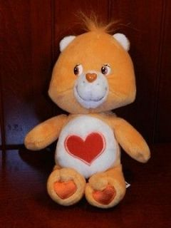 Care Bears TENDERHEART BEAR 2002 Plush Figure Stuffed Animal Toy TCFC