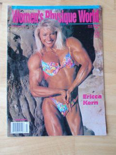 WOMENS PHYSIQUE WORLD female bodybuilding muscle magazine/Ericca Kern