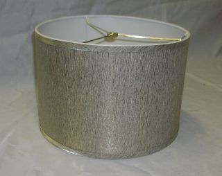 Contempoary Fabric Drum Lamp Shade 15 wide