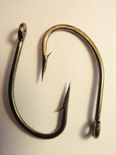 50 Eagle Claw Lazer Sharp size 2/0 OShaugnessy Bronze Live Bait Fish
