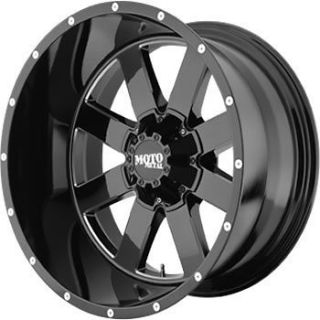 20x12 Black Wheel Moto Metal MO962 5x5 5x5.5