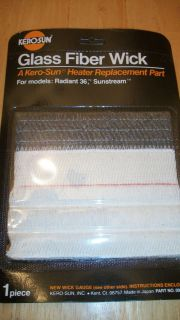 NEW KERO SUN HEATER WICK FITS MODEL RADIANT 36 SUNSTREAM 004024 L@@K