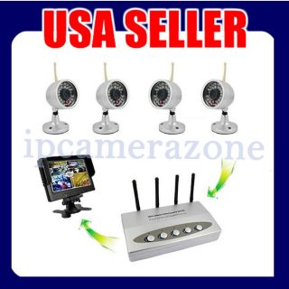wireless security camera system dvr in Security Cameras