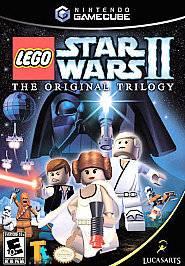 LEGO Star Wars II The Original Trilogy (Nintendo GameCube, 2006