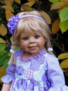 Masterpiece ♥ Daddys Little Girl ♥ Monika Levenig Doll 34 Blonde