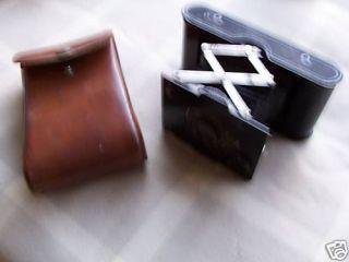 Eastman Kodak Model A 127 Pocket Camera w/ Leather case