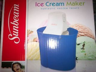 Sunbeam Ice Cream Maker in Ice Cream Makers
