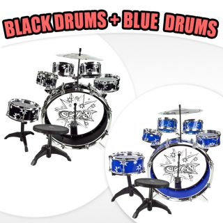 New Drum Set Kid Boy Girl Musical Instrument Toy Music Band Child
