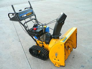Cub Cadet 926TE tracked snow thrower/blower 26 electric start 9hp