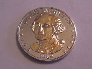 George Washington Double Eagle Token Gold/Silver