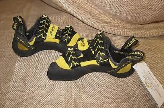 LA SPORTIVA MIURA VS ROCK CLIMBING SHOES 555 BLACK/YELLOW size 41