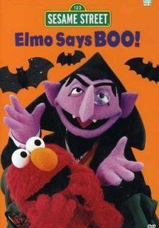 Sesame Street Elmo Says Boo [DVD New]