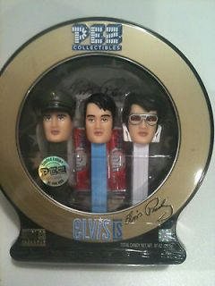 Elvis Presley Pez Dispenser with CD, Collector Edition.