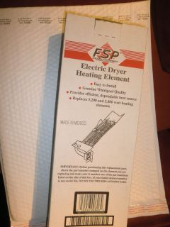 Electric Dryer Heating Element, FSP, Whirlpool, Many Model numbers