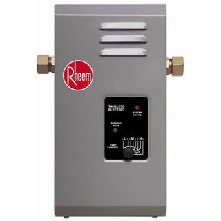 Rheem Electric Tankless Water Heater   7 kW RTE 7 NEW