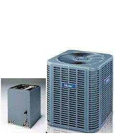 Ton R 410A 13SEER Central A/C System Condensing Unit & Evaporator Coil