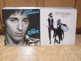 LP Lot Bruce Springsteen The River & Fleetwood Mac Rumors