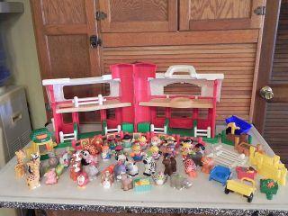 toy farm animal set fence