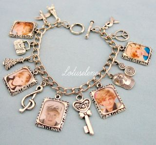 CODY SIMPSON♥Photo Picture Image Charm Bracelet Birthday Gift