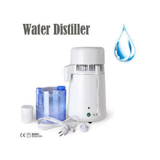New Water Distiller Pure Water Purifier Filter & Manual