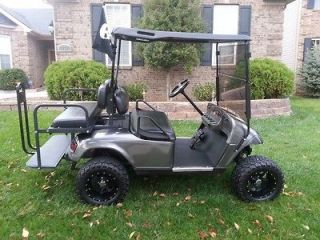 EZGO Electric 2007 TXT PDS Golf Cart   New High Torque Motor and New